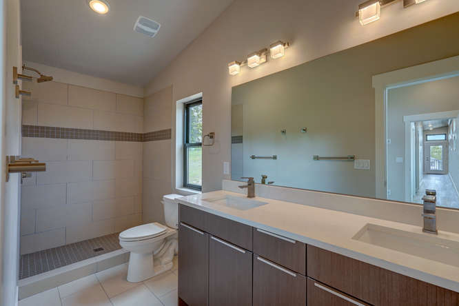 The Leadville Master Bathroom